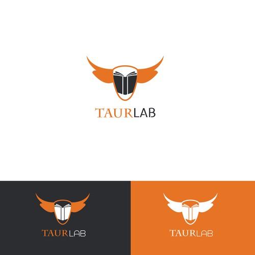 Taur Lab Logo Design