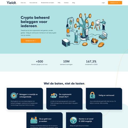 Crypto Website Design & Development
