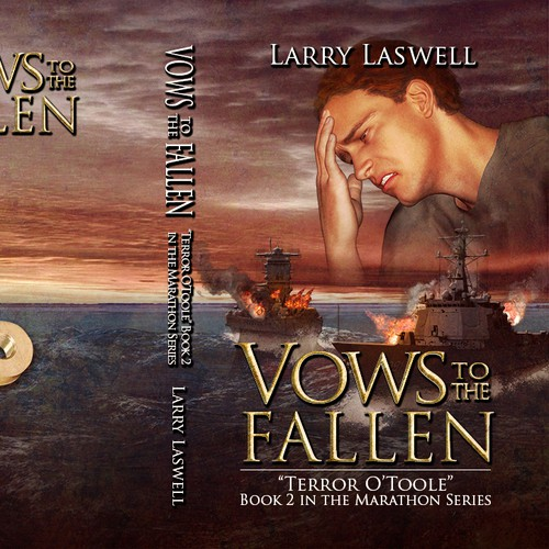 Vows to the Fallen, a book cover that evokes emotion.
