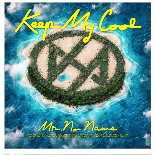 """""""Keep My Cool"""" Single Cover Art - Winner secures other design jobs throughout 2020."""