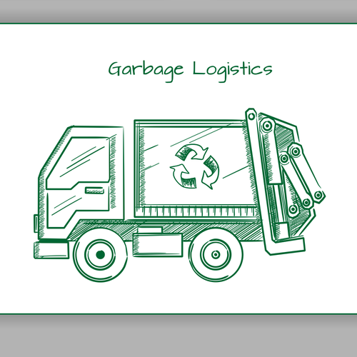 Icon for waste management.