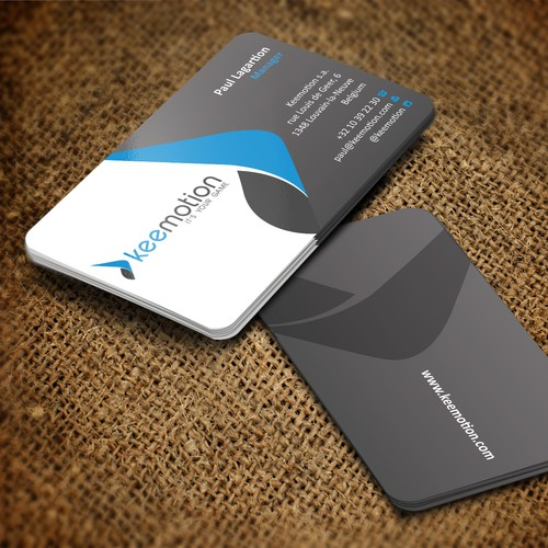 Create stunning Business cards for Keemotion