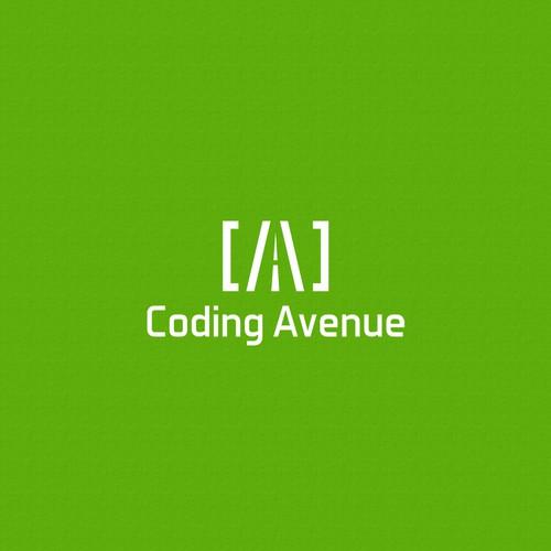 Coding avenue - Logo