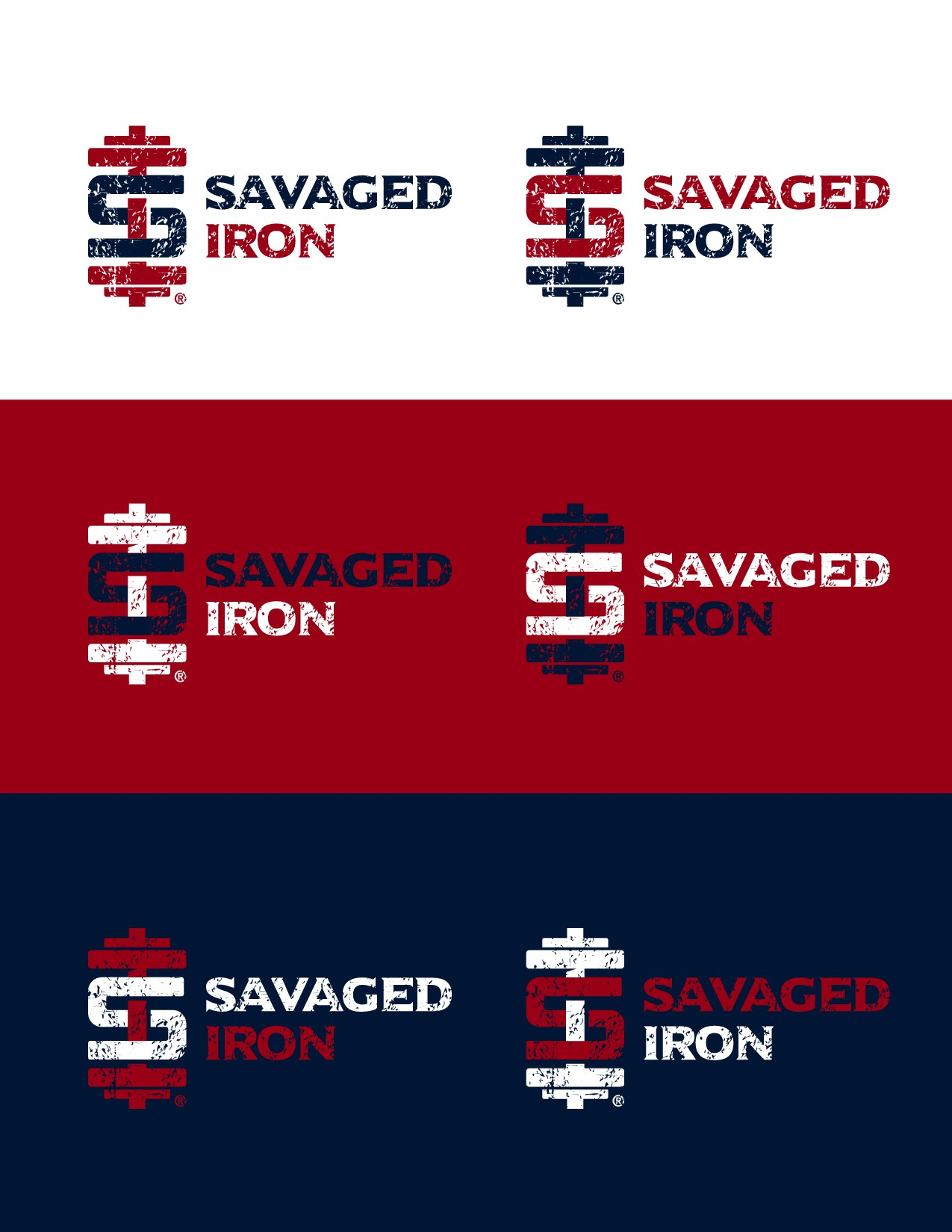 Savaged Iron requires edgy & eye catching  illustration for a hardcore fitness and lifestyle company