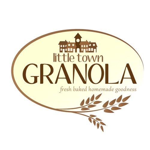 logo for Little Town Granola