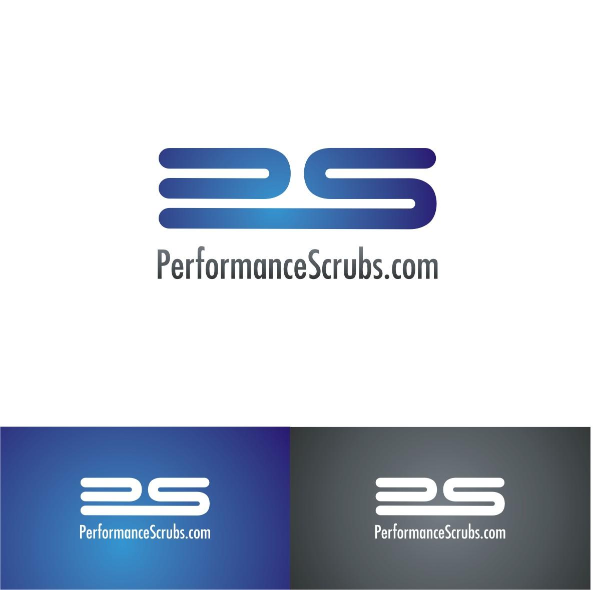 logo for PerformanceScrubs.com