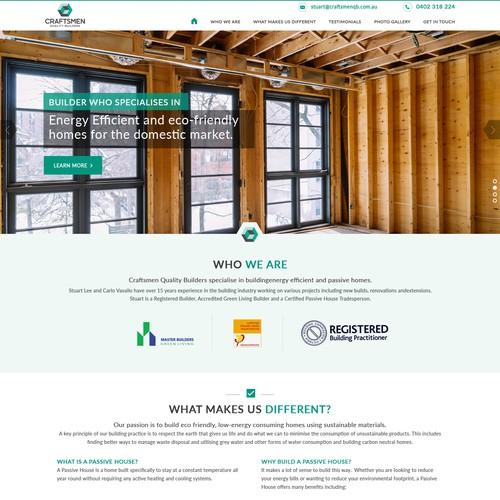 Construction Website Design