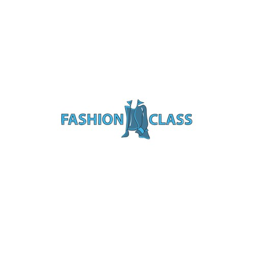 Illustrated Logo for Fashion Class