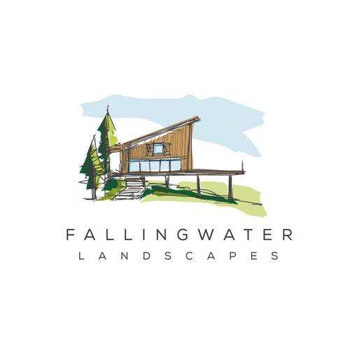 fallingwater landscapes