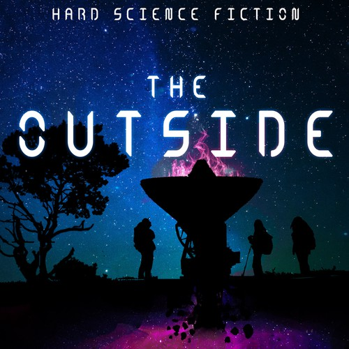 Concept for Science Fiction E-Book cover