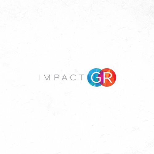 Logo and Brand identity development for Impact GR - a government consulting firm.