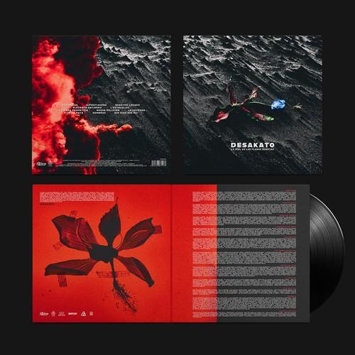 Vinyl album design