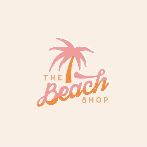logo concept for Vintage Beach Shop