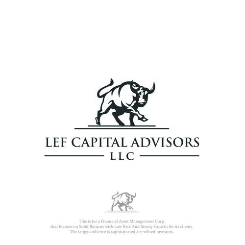 Design a compelling logo for LEF Capital Advisors LLC