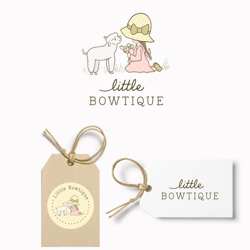 Little BOWTIQUE 🌸☺️⭐️ Company sells bows and bow organizers, and other hair accessories