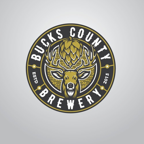 logo for buck county brewery