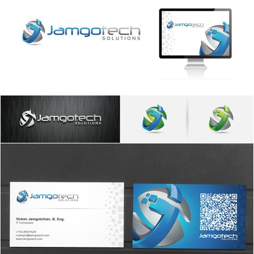 needs a new logo and business card