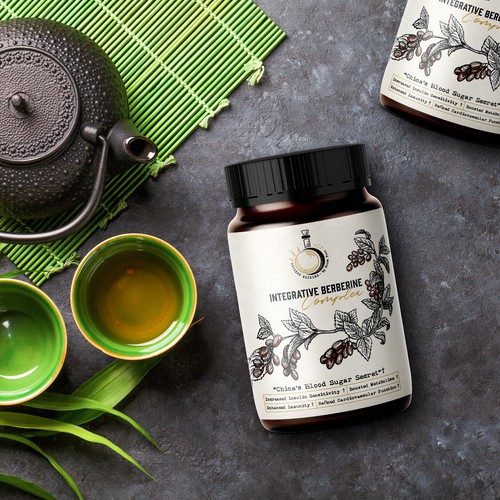 Ancient Elixirs Herbal Supplement Logo & Label Design