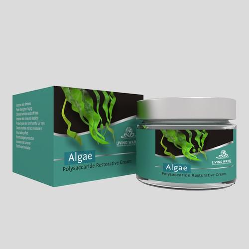 Algae box and label