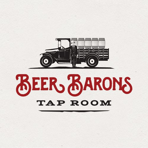 Logo Design for Beer Barons Tap Room