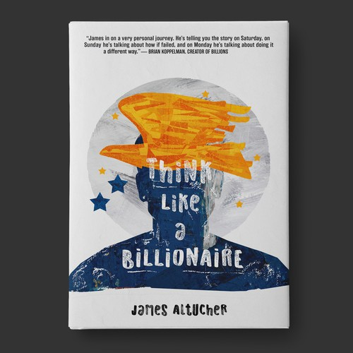 Business book cover design - Think Like a Billionaire