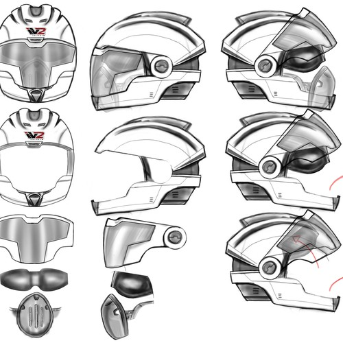 Design the Next Generation Motorcycle Helmet and See It Brought to Life!