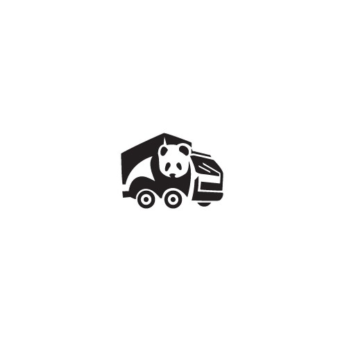 Panda Man and Truck