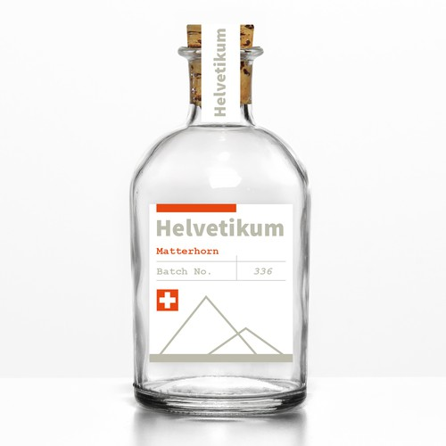 Label Design for Helvetikum