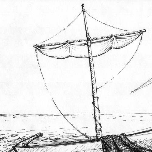 Illustration of St Peters boat