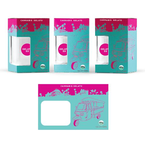 Gelato Box design