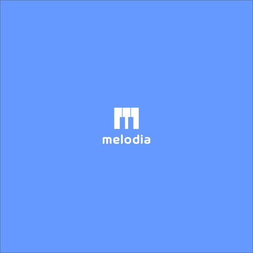 Logo concept for melodia