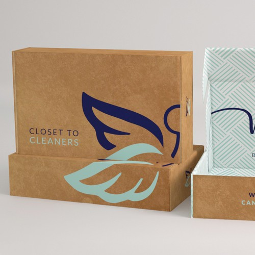 Subscription Box Design for Closet Cleaners