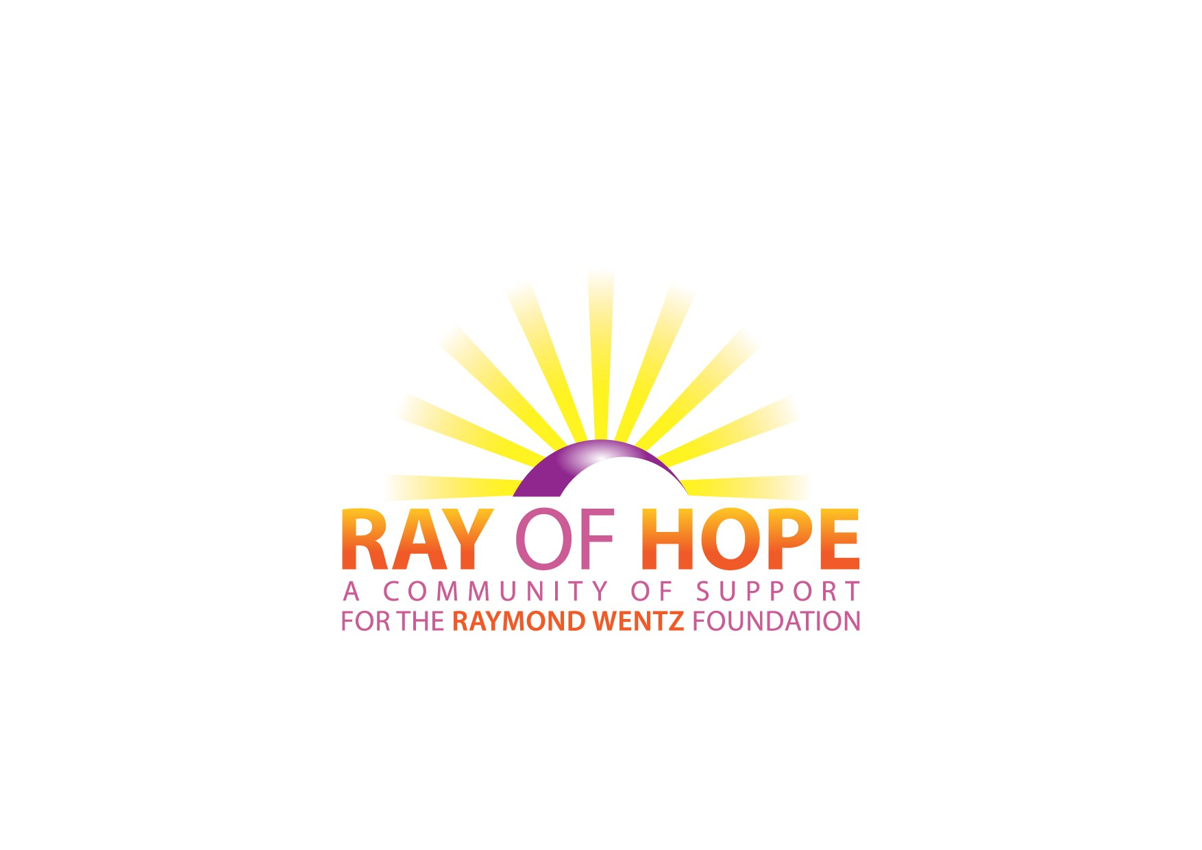 Create the next logo for Ray of Hope