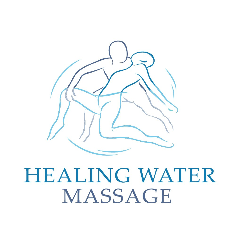 "Logo for ""Healing Water Massage"""