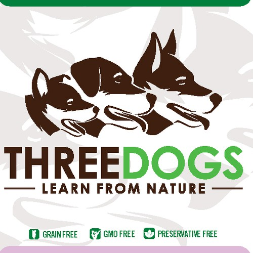 ThreeDogs Packaging Design