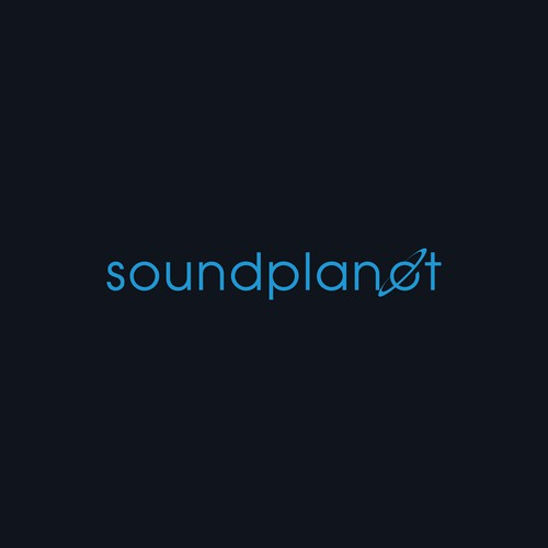 sound planet music equipment logo