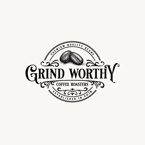Logo For Grind Worthy Coffee