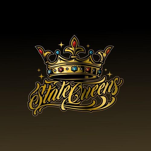 State Queens Logo design