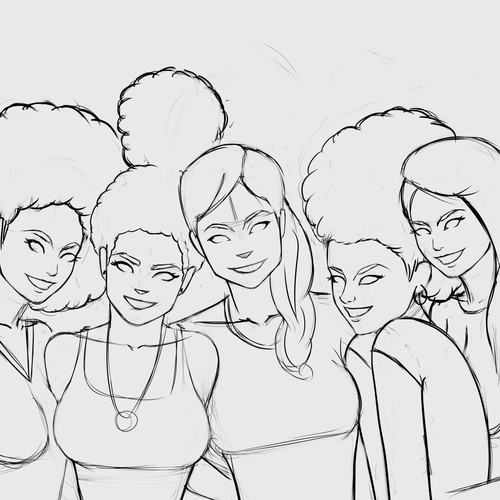 Group of Gals