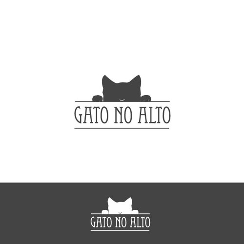 logo for a high end cat furniture company