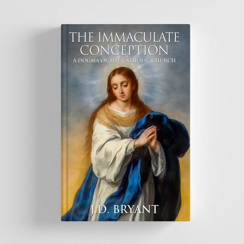 The Immaculate Conception Book Cover Design POP