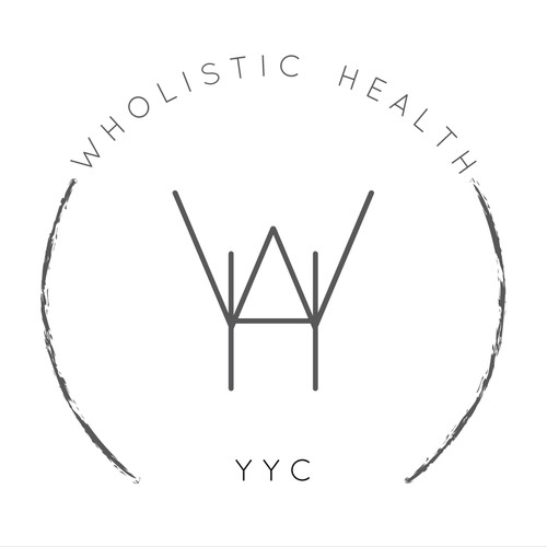 Create an eye-catching modern & clean logo/illustration for a holisticmental health & nutrition practice