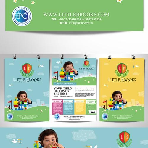 Flyer for Little Brooks