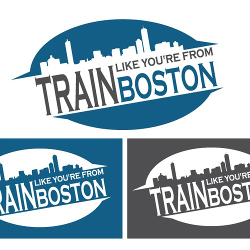 Help Train Like You're From Boston with a new logo