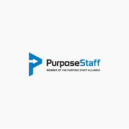 Looking for a Modern, Simple Business Minded Logo for PurposeStaff. Guaranteed and Blind.