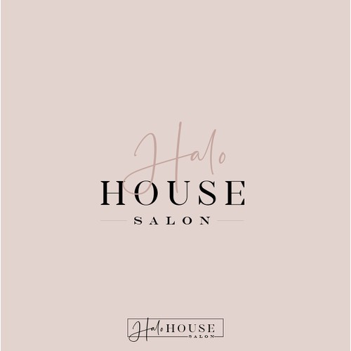 Modern,Sassy Logo for a hair salon