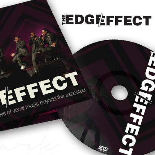 Edge Effect CD design
