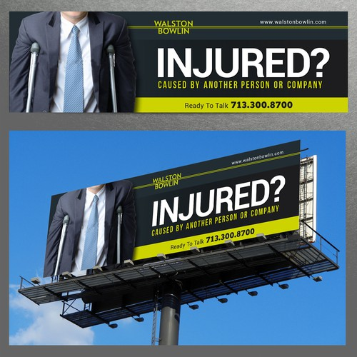 Injured Billboard