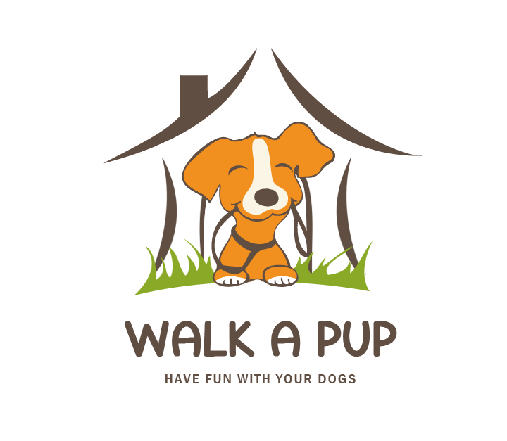 Re-Create a playful and inviting, dog loving imagen for Walk A  Pup