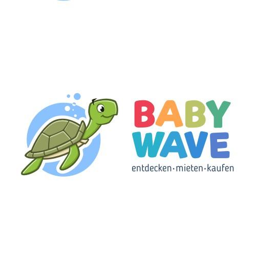 Logo for babywave.ch